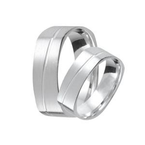 Ezüst karikagyűrű e03