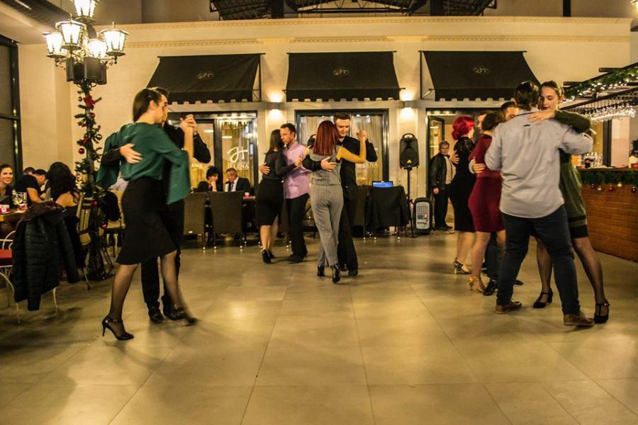 Saša Jovanović, Akademski plesni klub Habanera, Veče argentinskog tanga