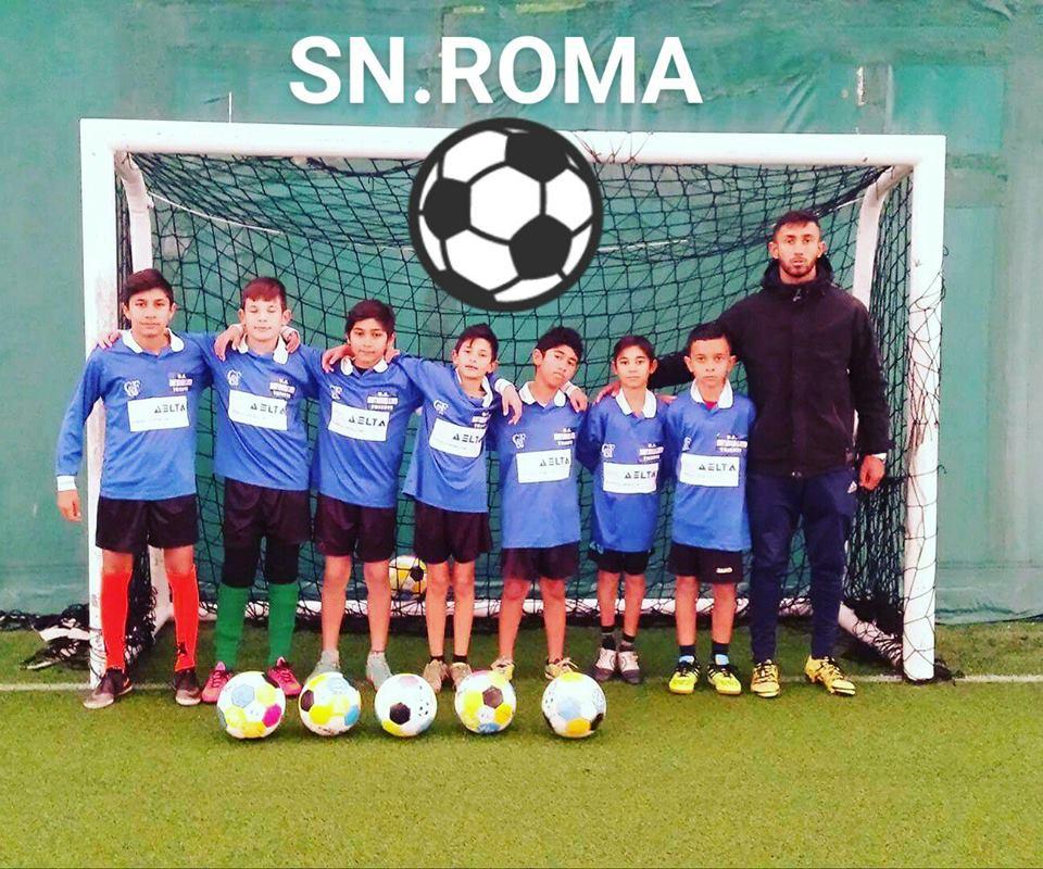 Koracima Kantone, Pirla i Kvarežme: Prva škola fudbala za Rome