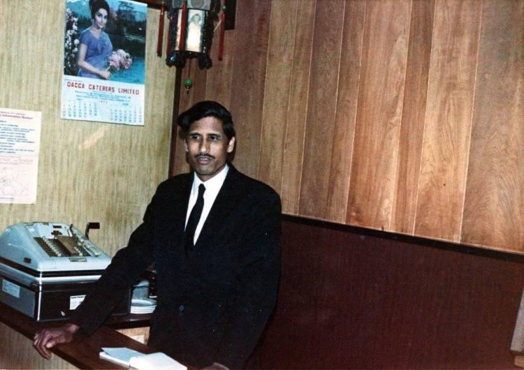 Abdul Karim at the New Bengal Tandoor Mahal