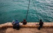 Fishing in Beirut