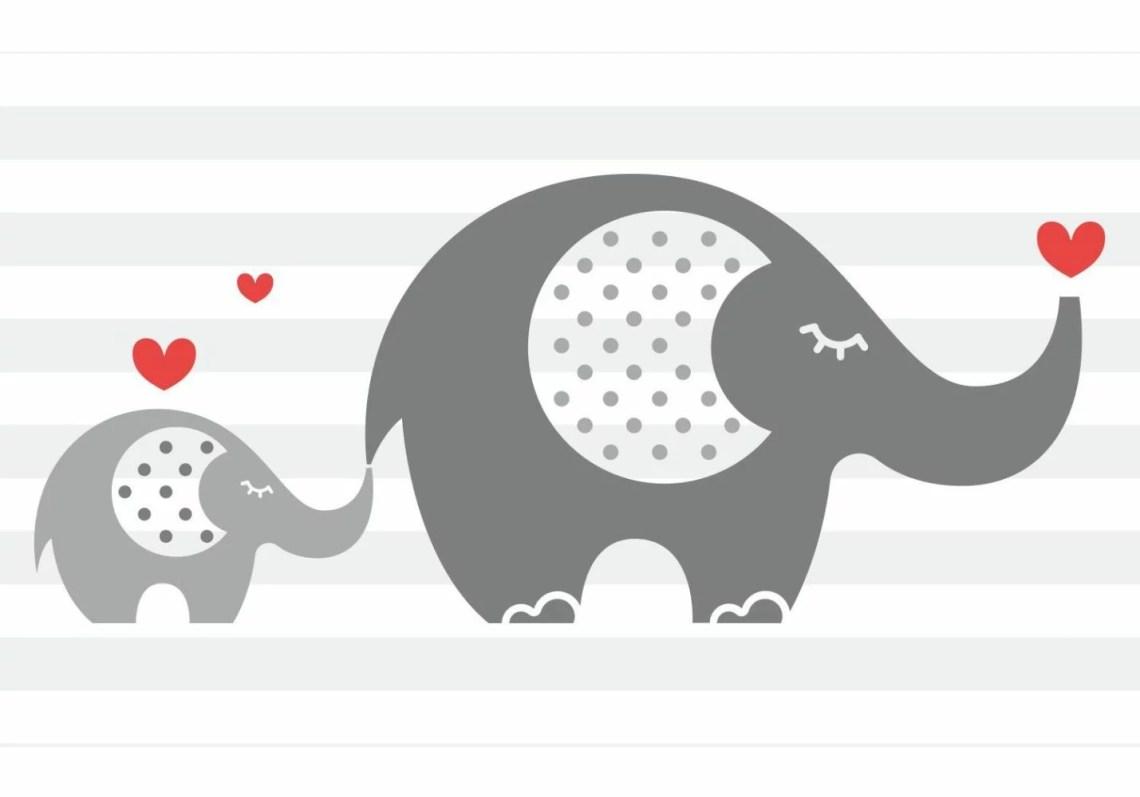 Download Mom Baby Love Elephant SVG | Karimoos