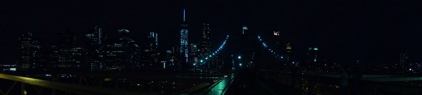 Brooklyn Bridge at Night - NYC, USA - Karina Noriega