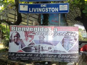 Now entering Livingston, home of the Garifuna culture of Guatemala -- Karina Noriega