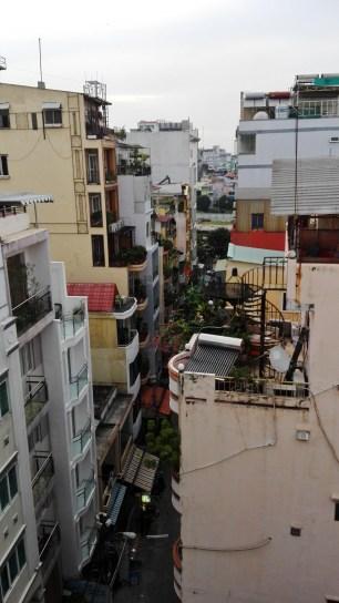 View from Kim Hotel I balcony