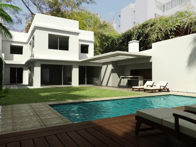 Roque graseras for Casa moderna arquitectura