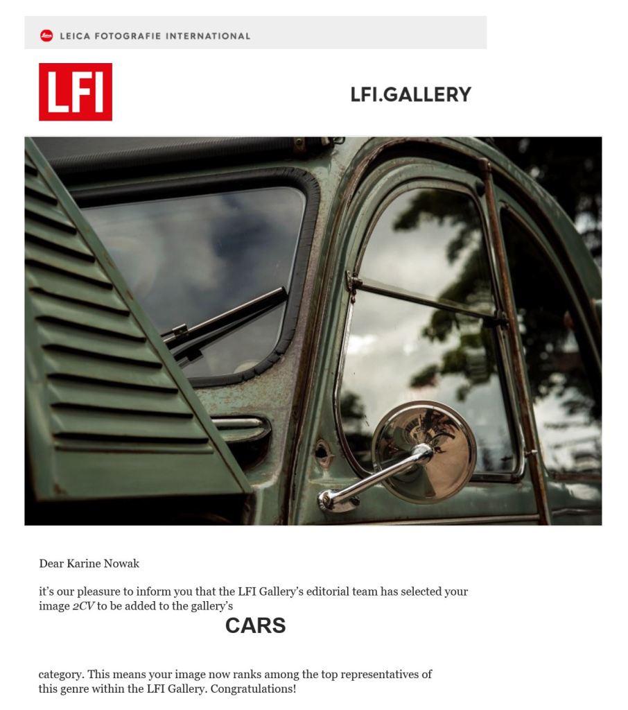 Leica Fotografie International LFI Gallery - Karine Nowak