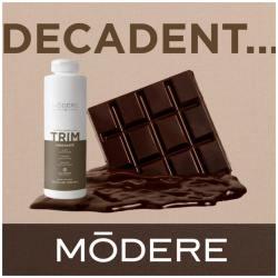 Trim chocolat modere