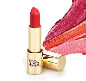 Rouge à lèvre metallic pearl Onikha 2
