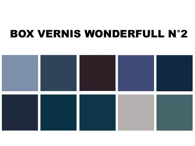 BOX NOEL VERNIS WONDERFULL N°2 couleur onikha