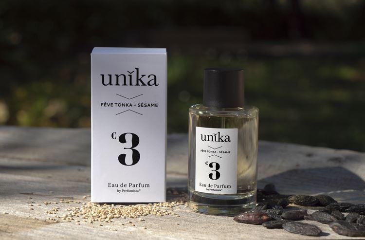 Onikha parfums de createur Unika - Karinealook - UNK003 - Feve de tonka - sésame