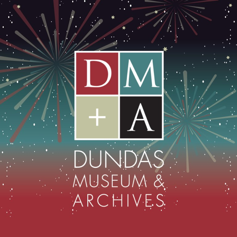 Dundas Museum and Archives Social Media Happy New Year Greeting New Years
