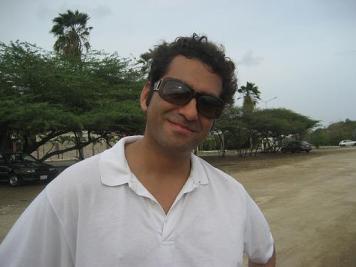 Enrique (met mijn zonnebril op)