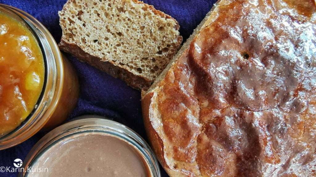 pain brioché confiture cédrat pâte à tartiner