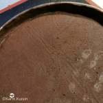 pâte cacao cercle foncer