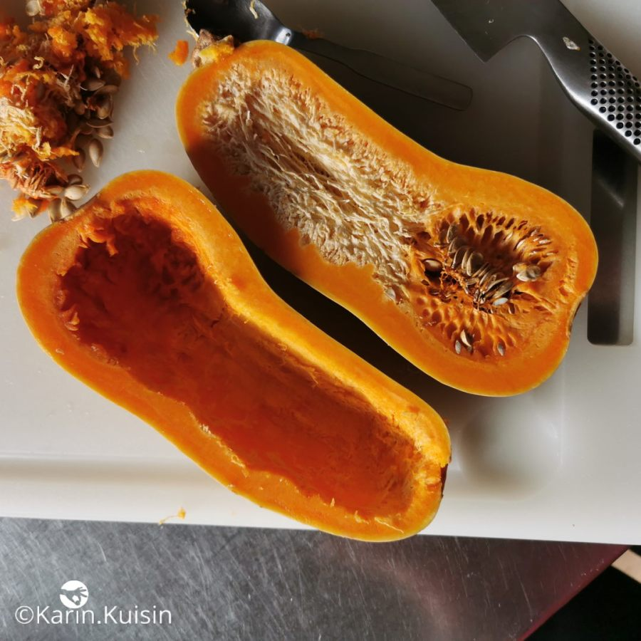 courge évider