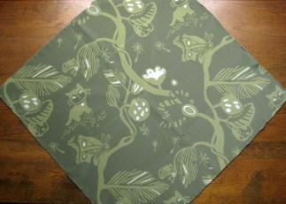 Tonic of Wilderness - 100% silk scarf