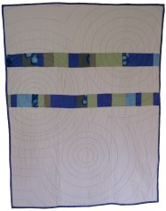 Ripples Quilt (front), 2008
