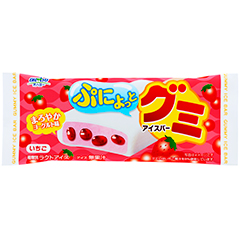 Gummy Strawberry Ice Bar - Kabaya