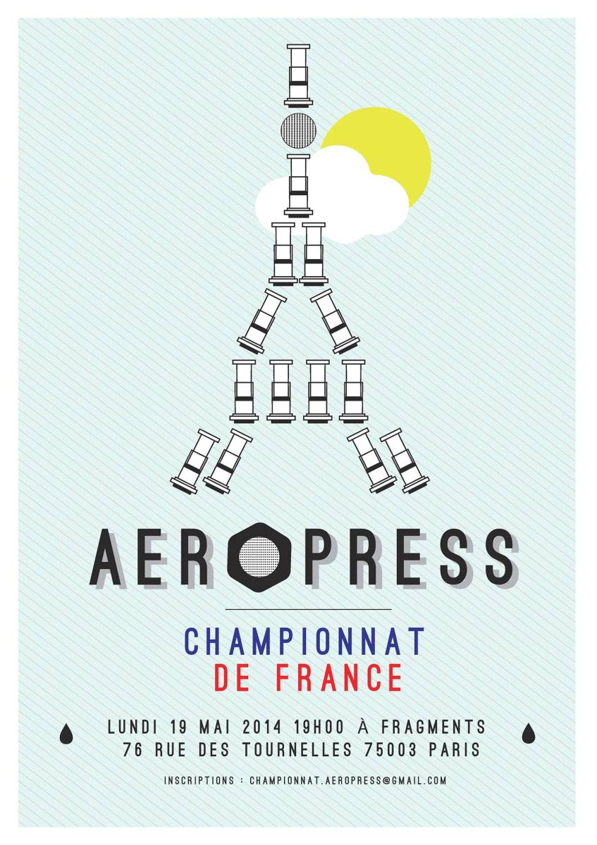 2014 French Aeropress Championship at Fragments Paris