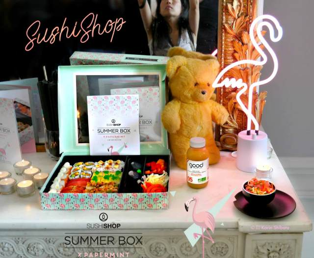 sushi shop papermint summer box 3