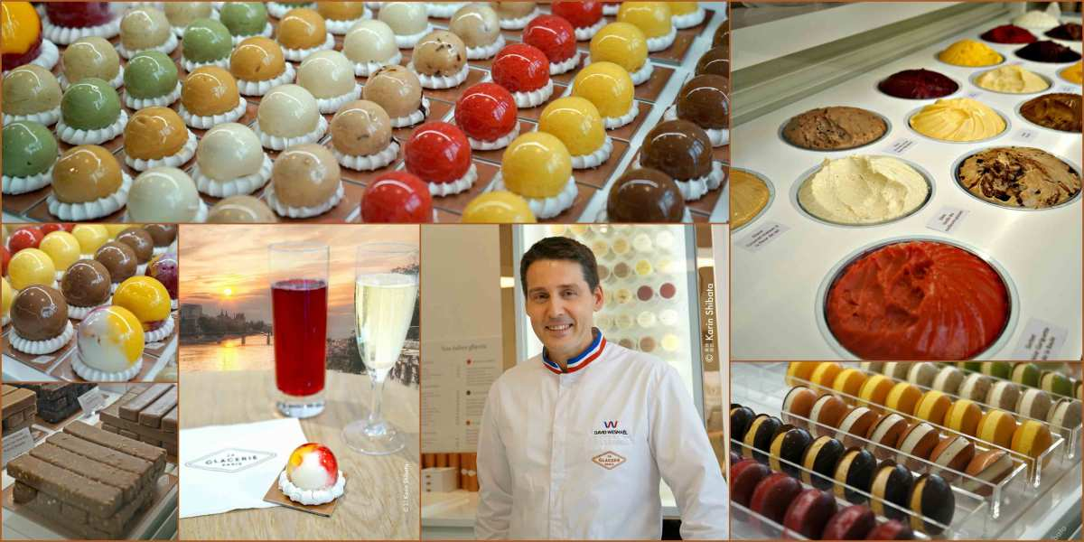 David Wesmaël | La Glacerie | The Art of divine ice creams with pure flavors
