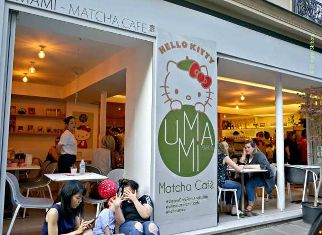umami matcha cafe hello kitty 2