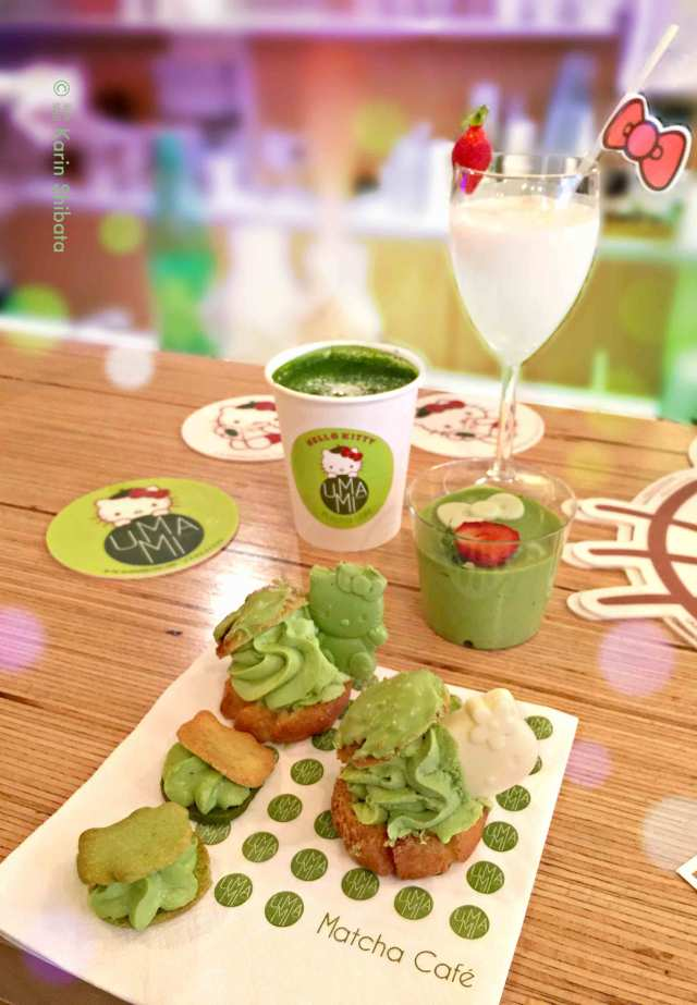 umami matcha cafe x hello kitty 8