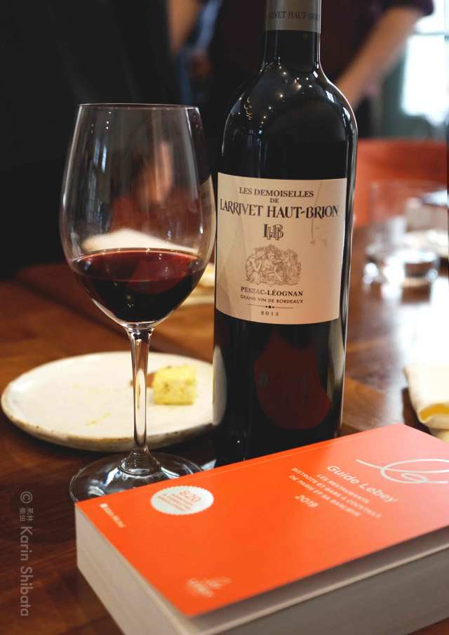 chateau larrivet haut brion affinite restaurant paris meilleur bistrot guide lebey 2019 6