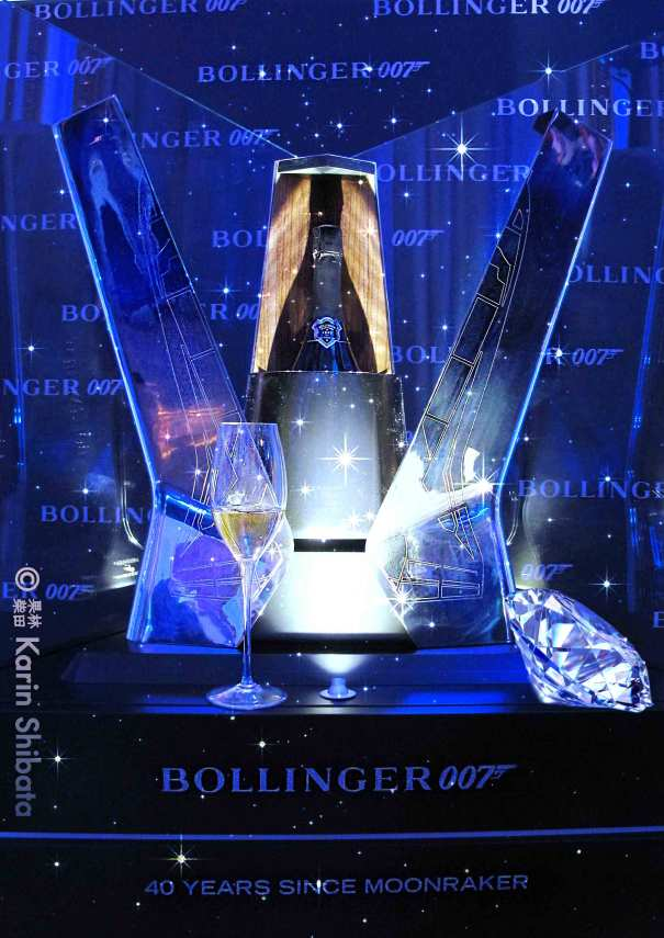 Bollinger x James Bond 007 hotel crillon party 1