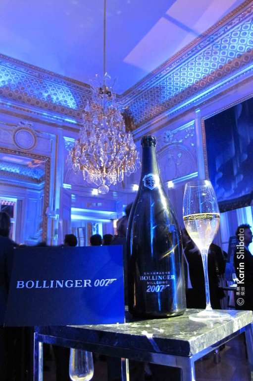 Bollinger x James Bond 007 hotel crillon party 3