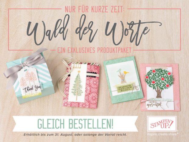 Produktset Wald der Worte