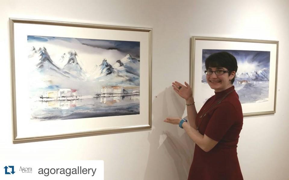 Kari Rindahl Endresen utstilling i New York