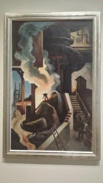 The Steel Mill by Thomas Hart-Benton (1930)