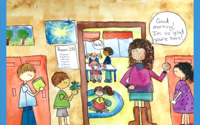The Simple Magic of Greeting Kids at the Door