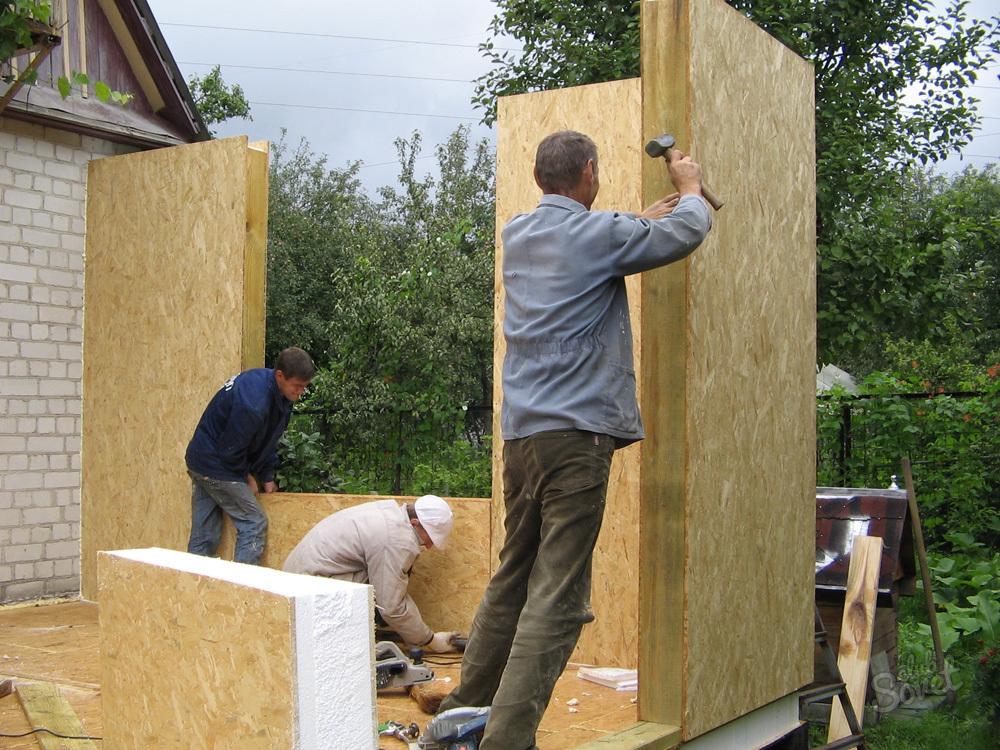 Duvarları sabitlemek