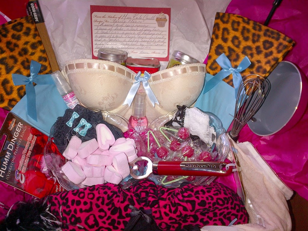 Bridal Shower Gift….Naughty & Nice….Sweet