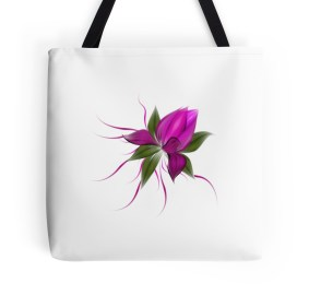 pink bloom tote