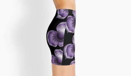 purple skirt side