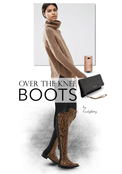 On Trend – Over the Knee Boots