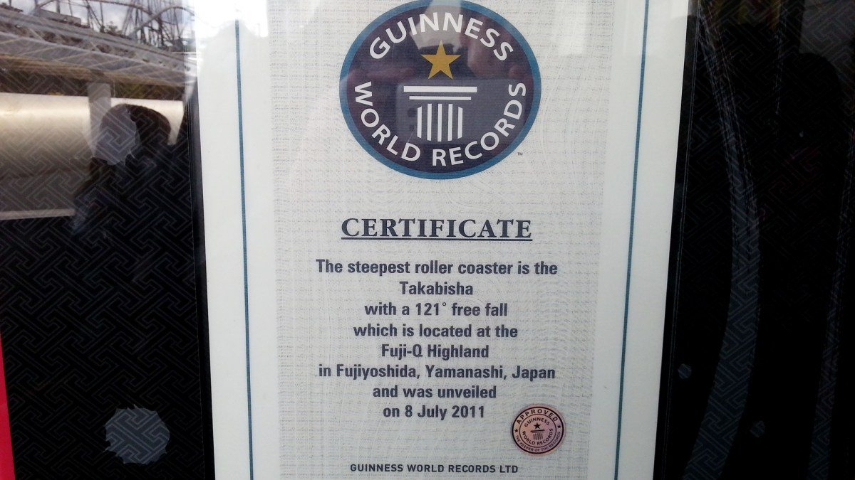 Takabisha Guinness World Records