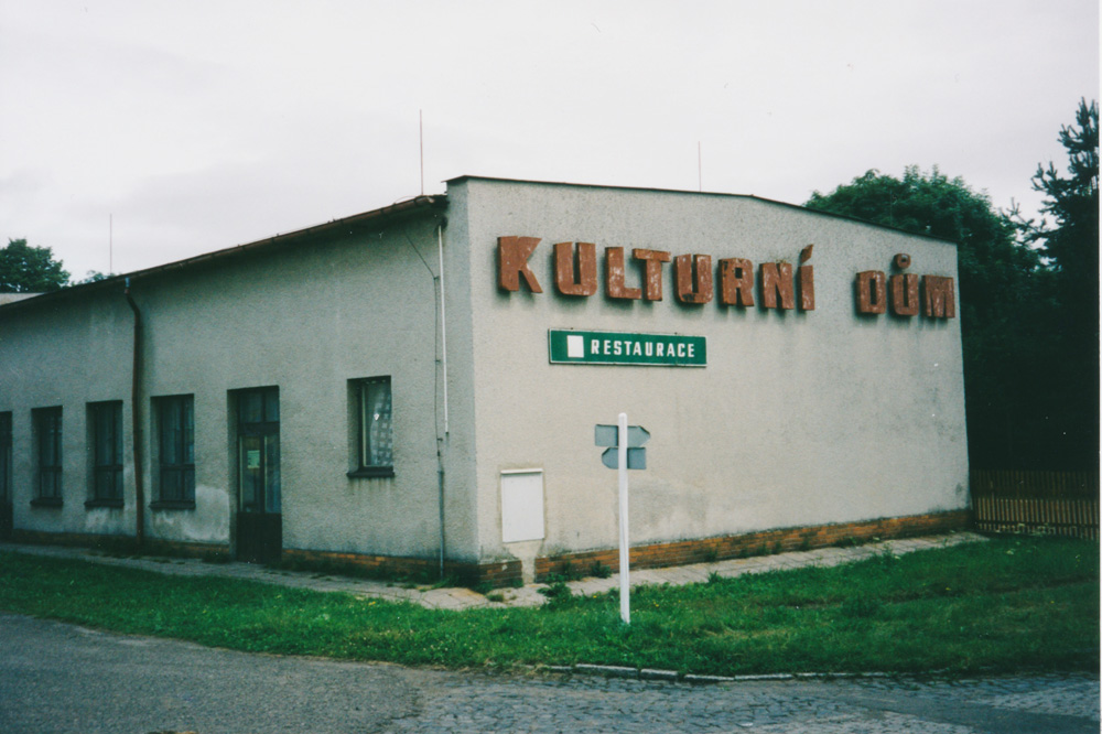 "My first meal in the Czech republic was a long awaited fried cheese with chips and tartar sauce. I digested it in ""Kulturní dum"" (Culture house) in the little village Rybniště."