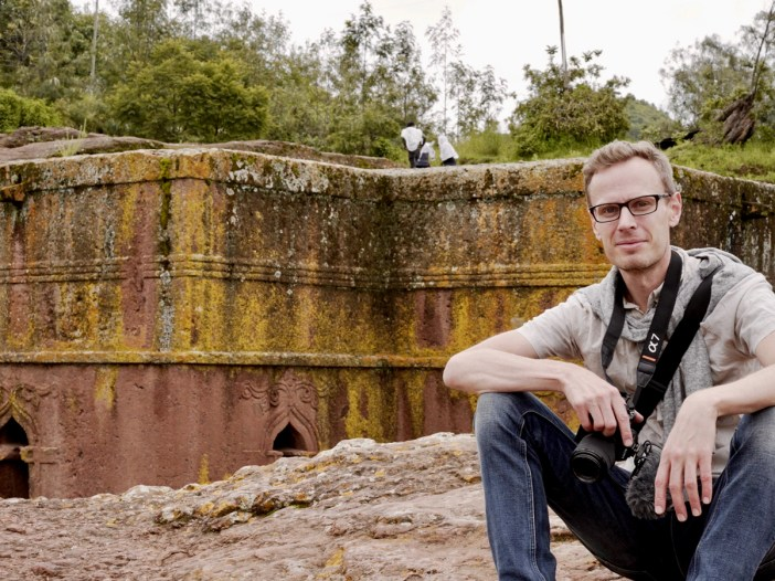 Karl Andersson in Lalibela, Ethiopia