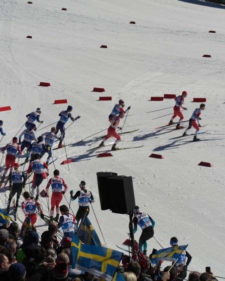 (c) Karl Baumann 2019: Langlauf-Weltmeisterschaft, Seefeld im Februar, Samsung NX20