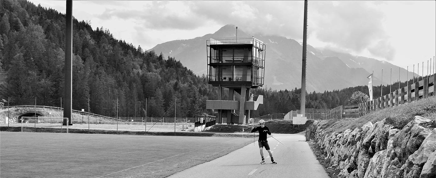 (c) Luna Baumann 2020: Skiroller, Seefeld im July, Samsung NX20