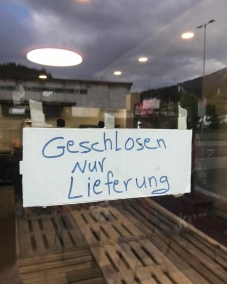 (c) Karl Baumann 2020: Covid-19 Geschosen, Innsbruck mit iPhone 7