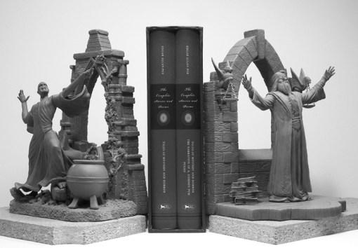 Voldemort and Dumbledore Bookends