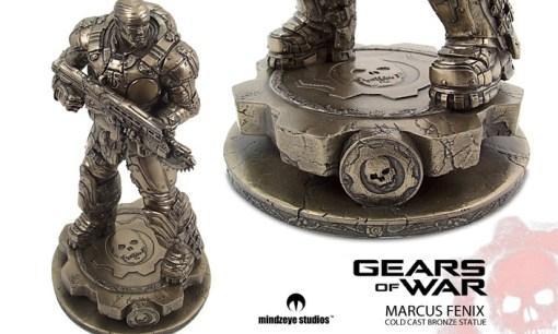 Marcus Fenix Statue from Gears of War