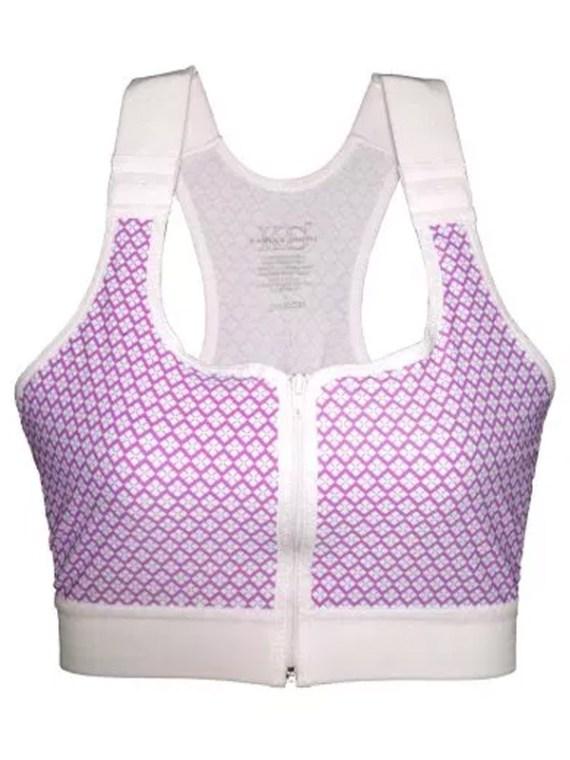 front zip post surgery bras