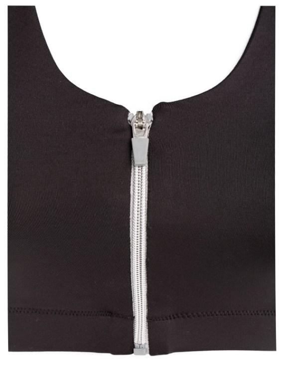 Karlee Smith surgical bra front zip detail